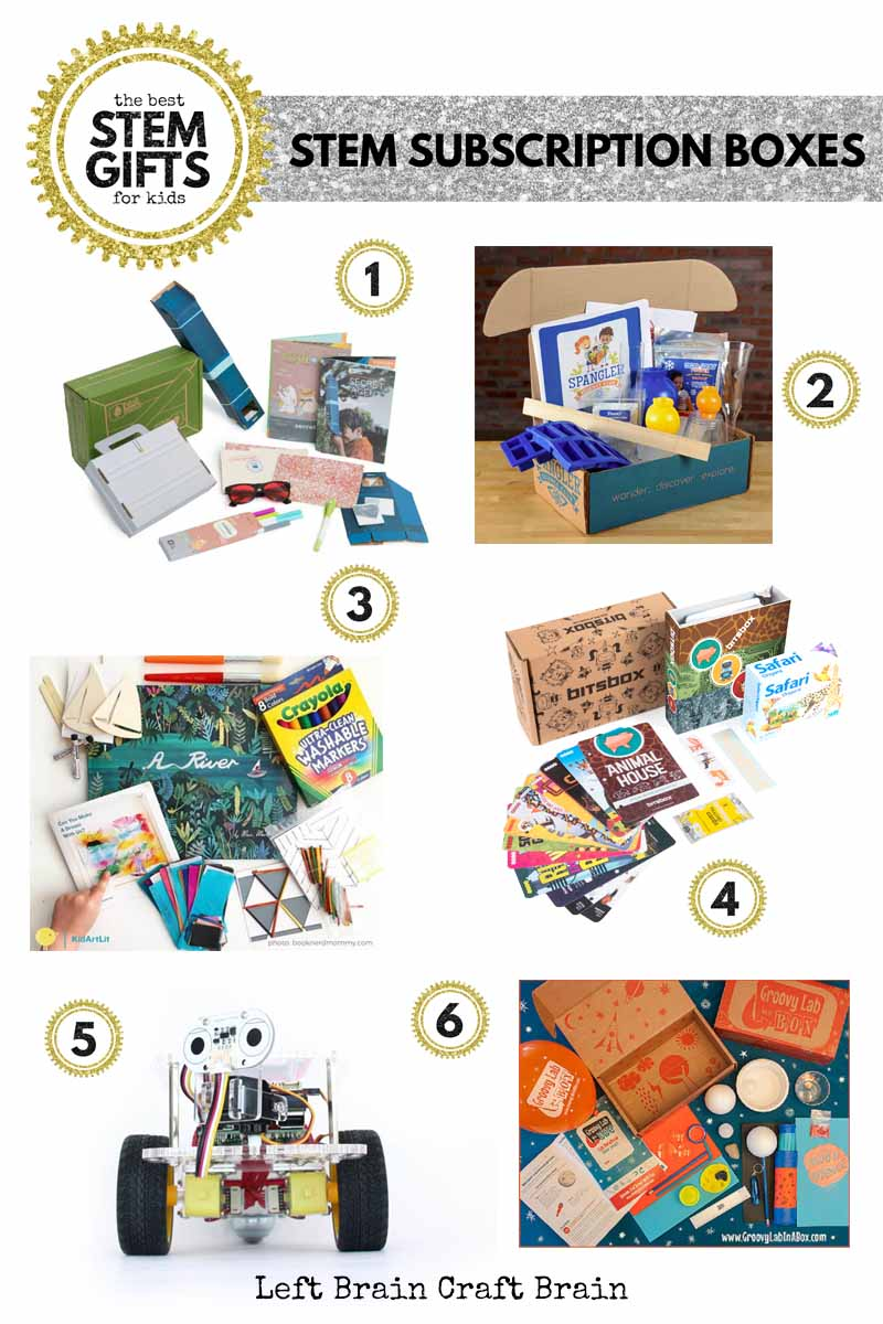 The Best STEM Gifts for Kids - Left Brain Craft Brain