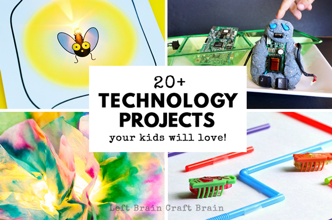 20+ Technology Projects for Kids They'll Love