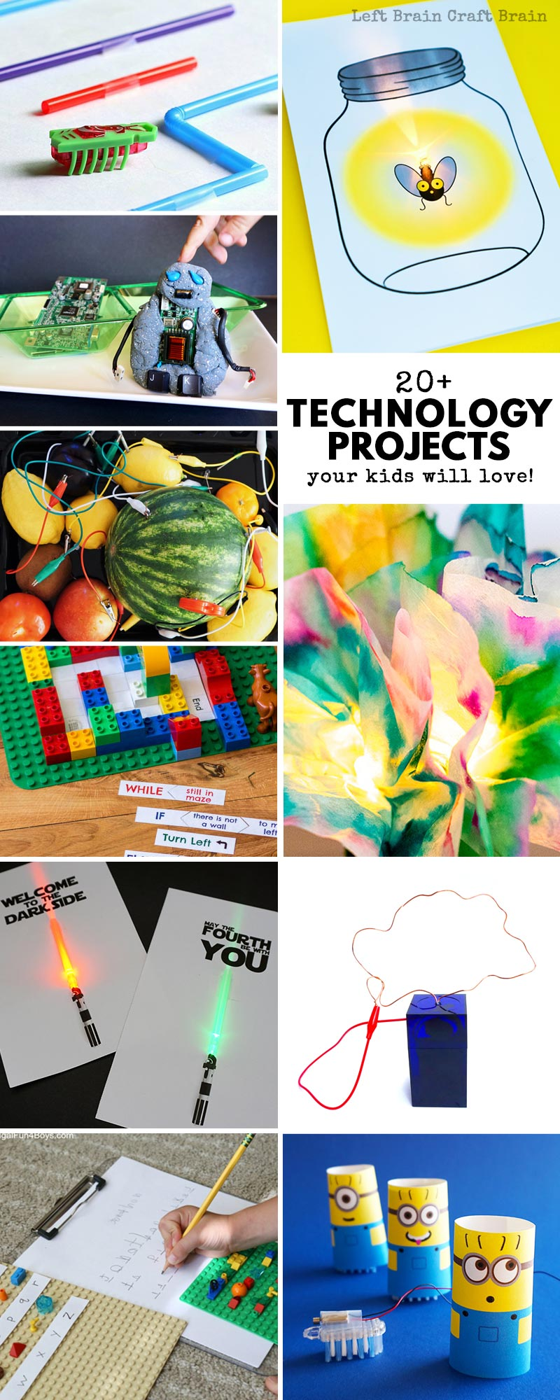 20 Technology Projects For Kids Theyll Love Left Brain Craft Free Electronic Circuit Your Steam Are Going To These Fun Stem