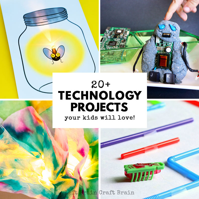 20+ Technology Projects Your Kids Will Love