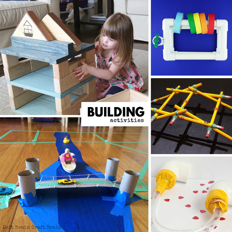 50 Awesome Engineering Projects For Kids Left Brain Craft Brain