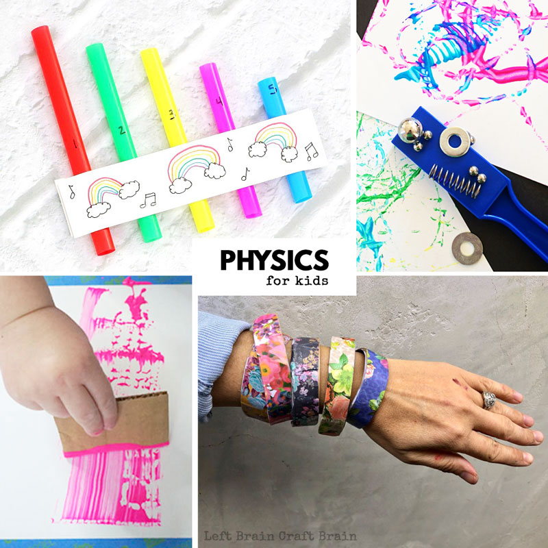 physics experiments for kids