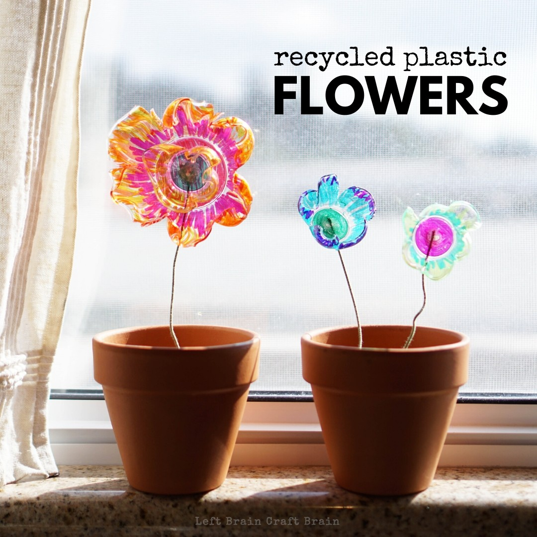 Recycled Plastic Flowers