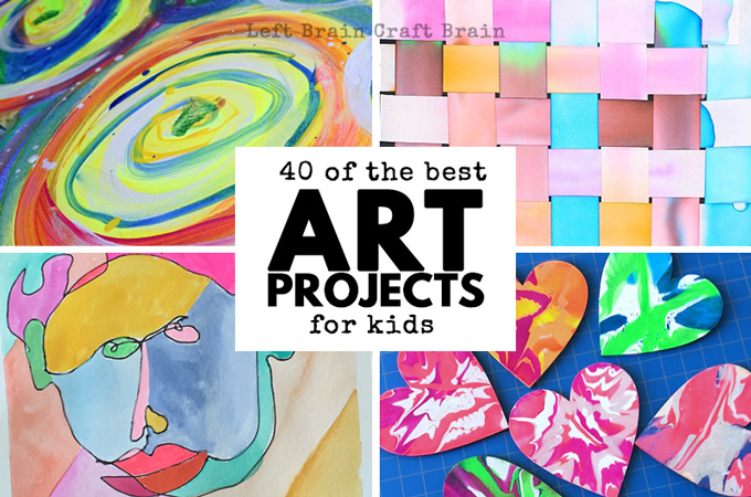 40 of the Best Art Projects for Kids