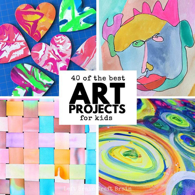 Your Kids Will Love This Collection Of Art Projects For You Ll Find