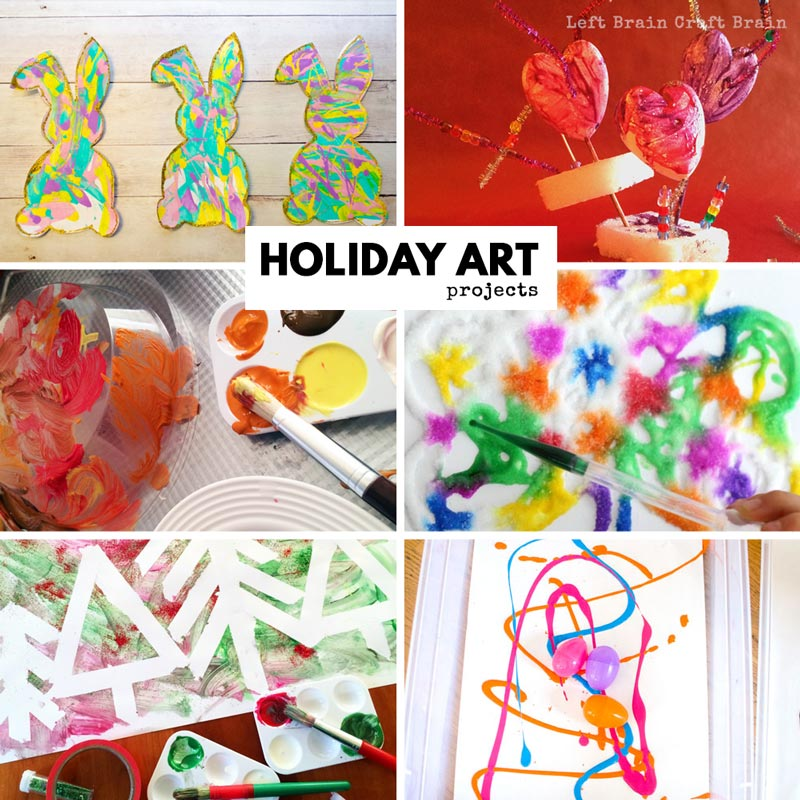 Art Ideas Ourselves Topic: 40 Of The Best Art Projects For Kids