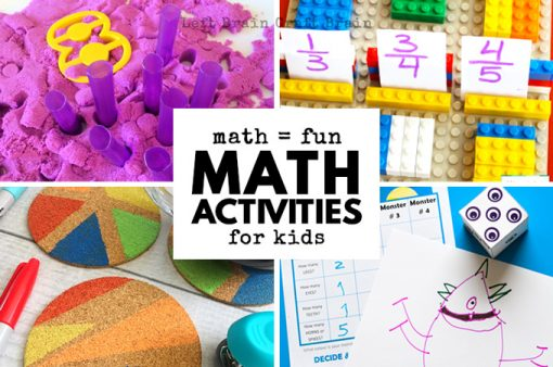 Math = Fun in these Cool Math Activities for Kids