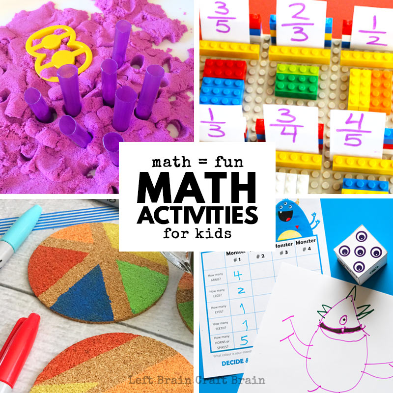 Whether you're practicing math facts or adding new math concepts to your kid's growing math knowledge, these math activities for kids are meant for you to help your kids thrive in our competitive real world. Tons of math printables, hands-on math activities for kids, math games, and more.