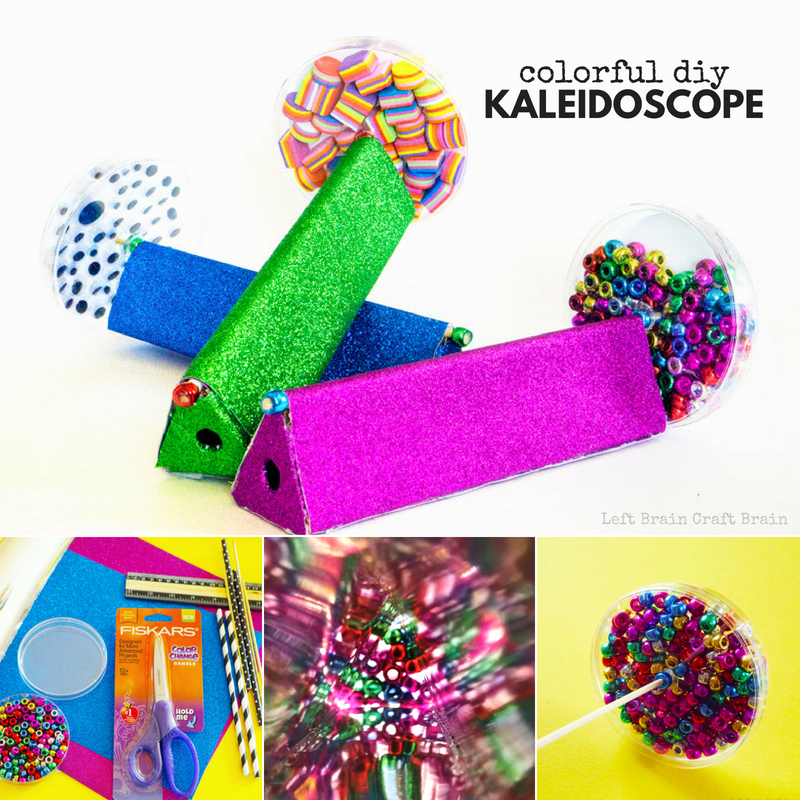 How To Make A Diy Kaleidoscope Left Brain Craft Brain