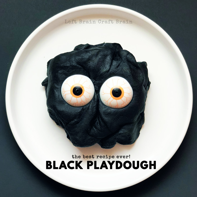 the best black playdough recipe