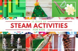 STEAM Kids Christmas Activity Countdown for Kids