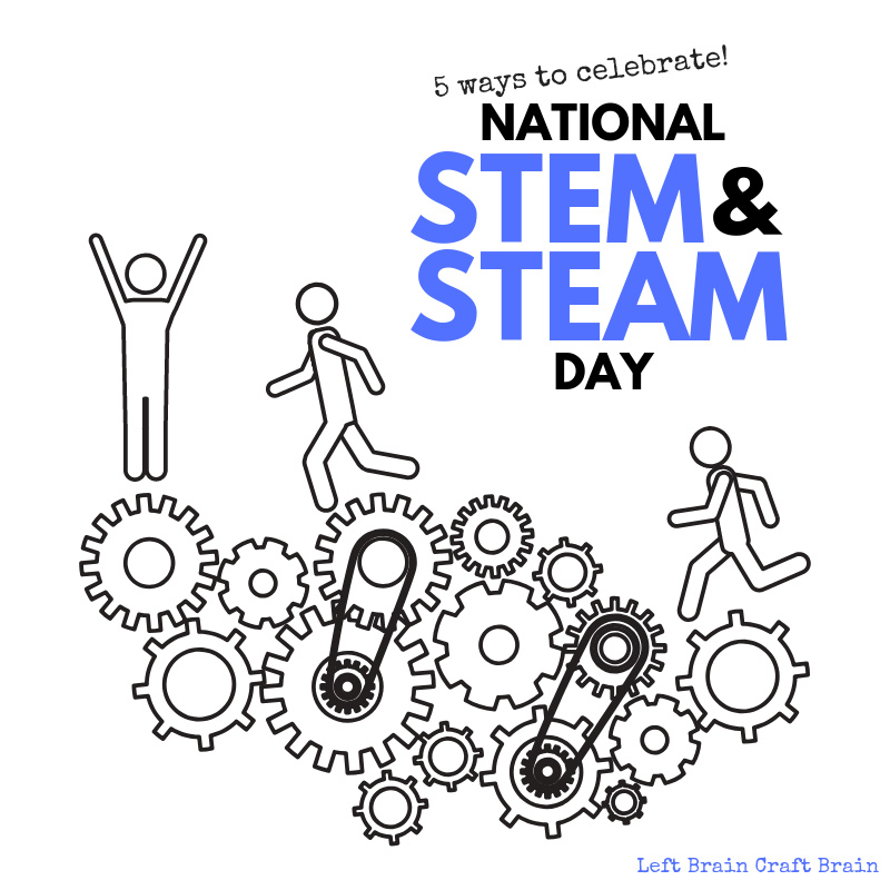 Celebrate National STEM Day and National STEAM Day with these fun hands-on science, technology, engineering, art, and math activities and projects the kids will love. Perfect for school, scouts, after school, makerspaces, and more!
