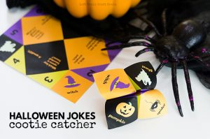 Halloween Jokes Cootie Catcher with Step by Step Instructions