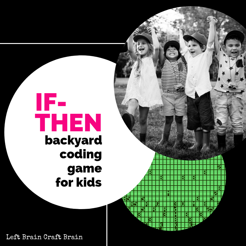 If-Then Backyard Coding Game for Kids