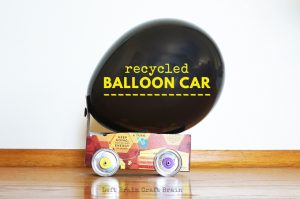 How to Make a Recycled Balloon Car