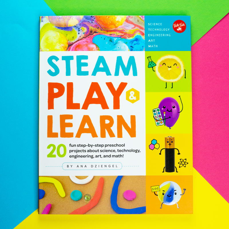 STEAM Play and Learn Book