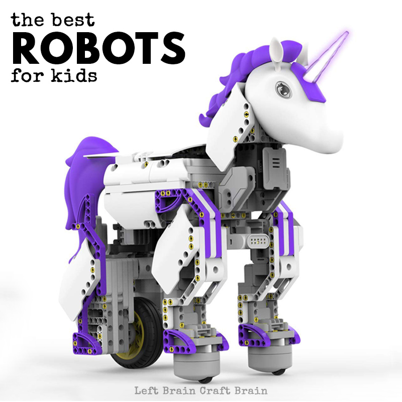 Best Robots For Kids >> The Best Toy Robots For Kids Left Brain Craft Brain