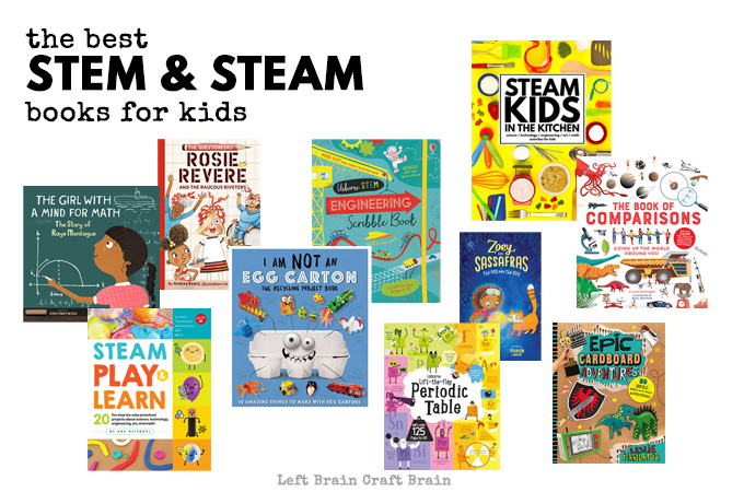 The Best STEM Books and STEAM Books for Kids
