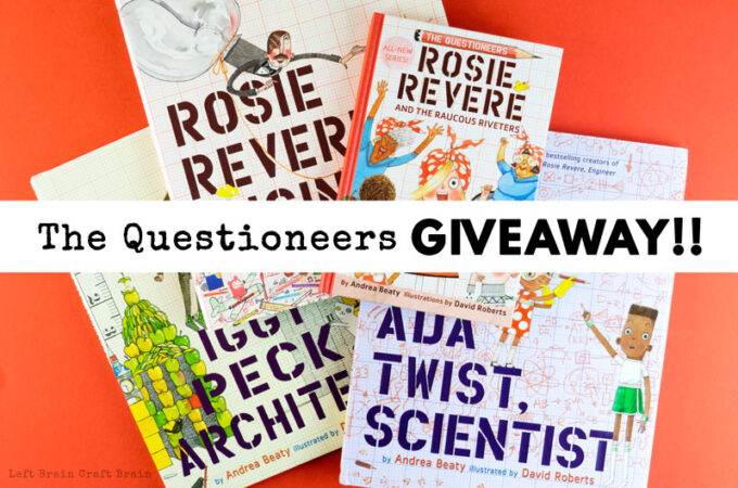Win the Rosie Revere and the Questioneers Giveaway