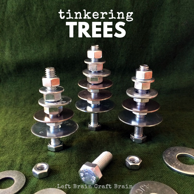 tinkering trees hardware christmas trees