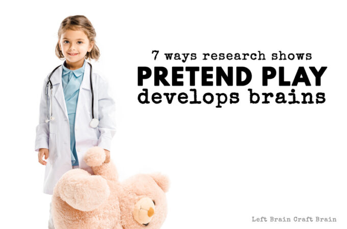 7 Ways Research Indicates Pretend Play is Vital for Brain Development