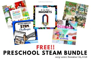 You Totally Want this FREE Preschool STEAM Bundle!!