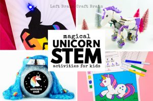 Magical Unicorn STEM Activities for Kids