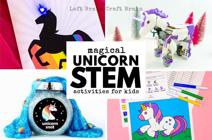 Magical Unicorn STEM Activities for Kids