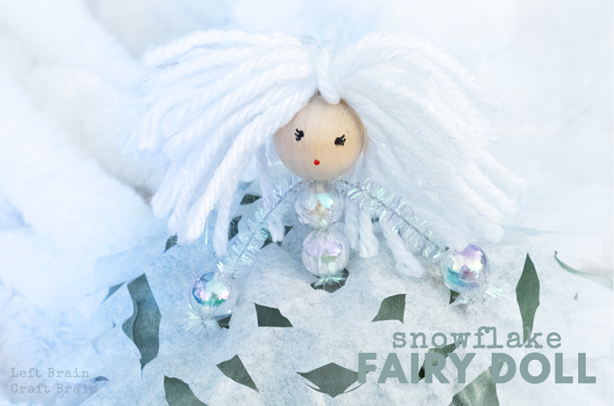How to Make a Snow Fairy Doll