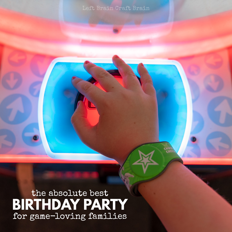 Do the kids in your family love playing games? Then this is the birthday party for them! They will love having their best birthday party ever at Chuck E. Cheese's. Games, prizes, ticket blaster, pizza, and more!