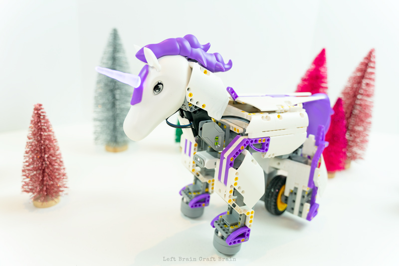 JIMU Robots Unicornbot in glitter forest