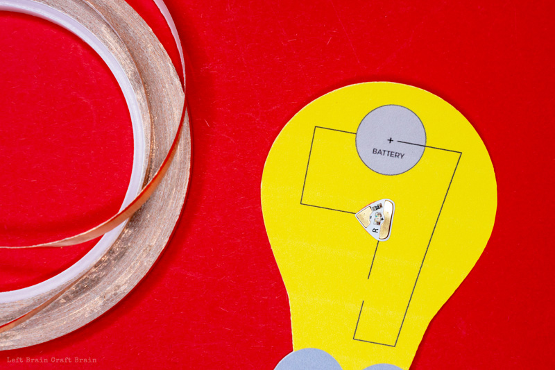 chibitronics LED sticker