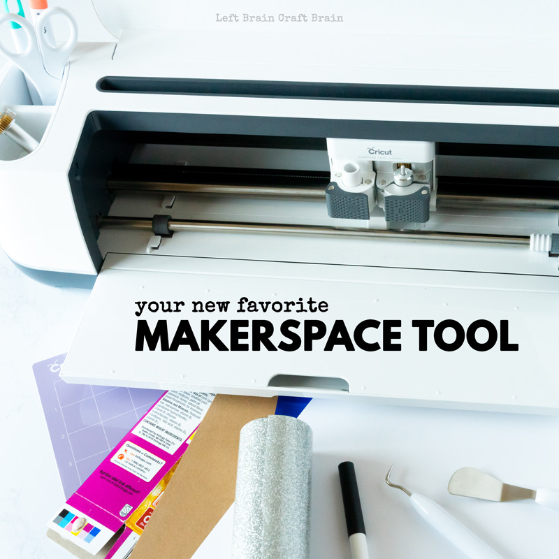 Find your new favorite makerspace tool in the Cricut Maker. It cuts cardboard, vinyl, fabric, paper, and more. All controlled by your computer or mobile device. You next creative project just got easier!