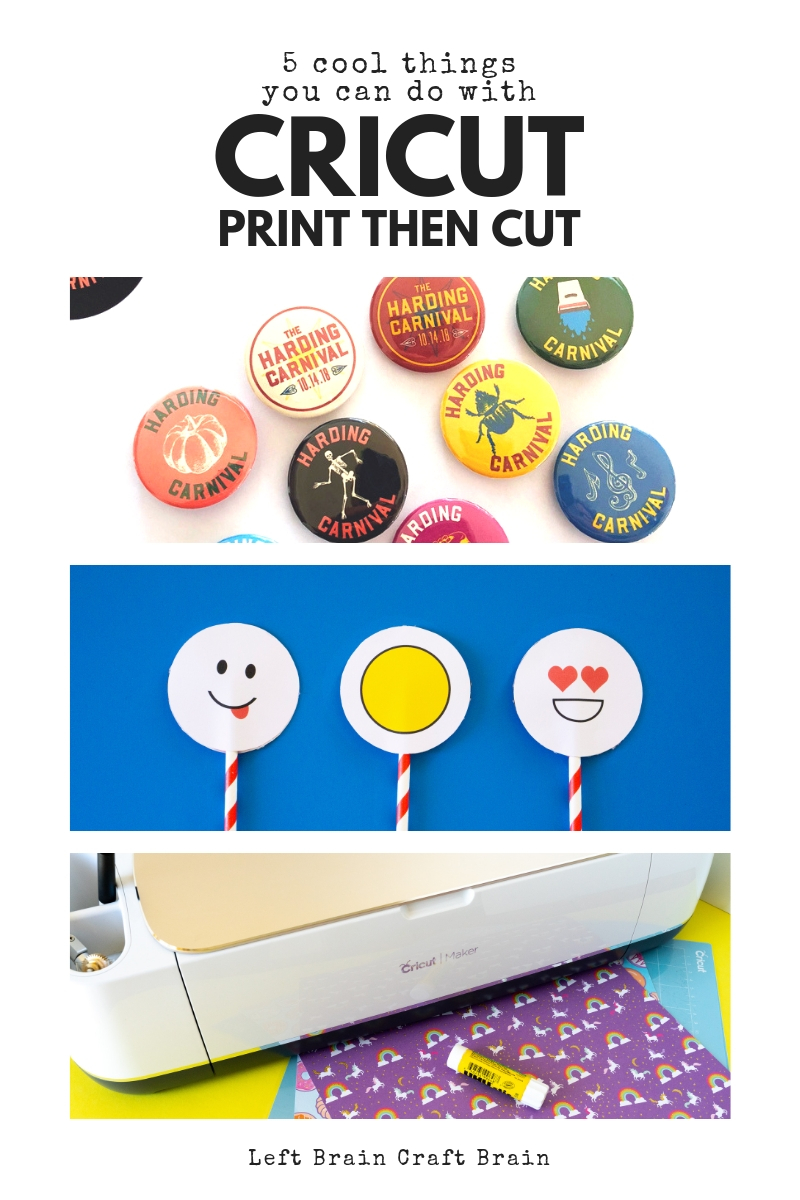 Get creative with your Cricut machines Print then Cut feature. Here are some quick tips to make it successful and cool things you can make, too.