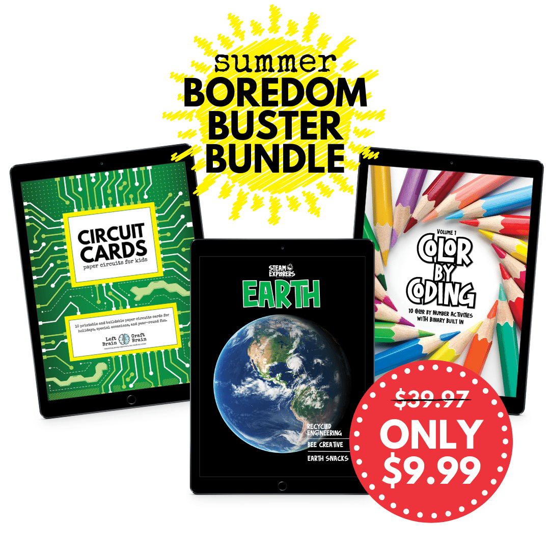 Summer Boredom Buster Bundle with discount