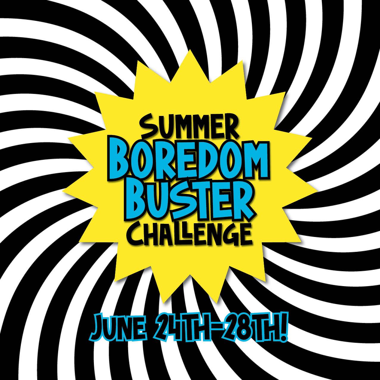 Summer Boredom Buster Challenge - COVER v2