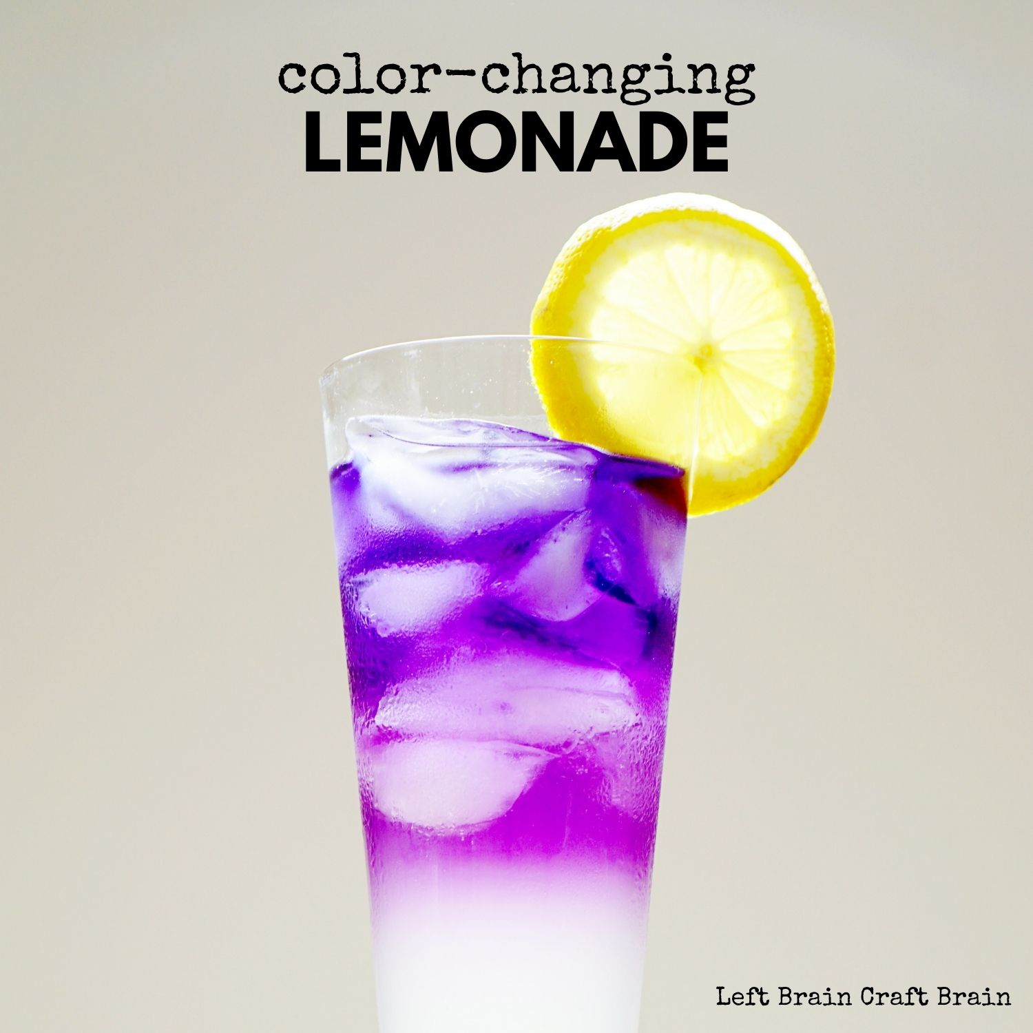 Make some color changing lemonade for a delicious and exciting edible science experiment. Perfect for STEM education at school and home. Or perfect for a summer party, too! Adds wow to any time you drink a glass of lemonade!