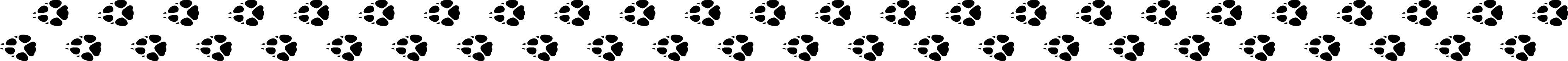 fox paw prints small