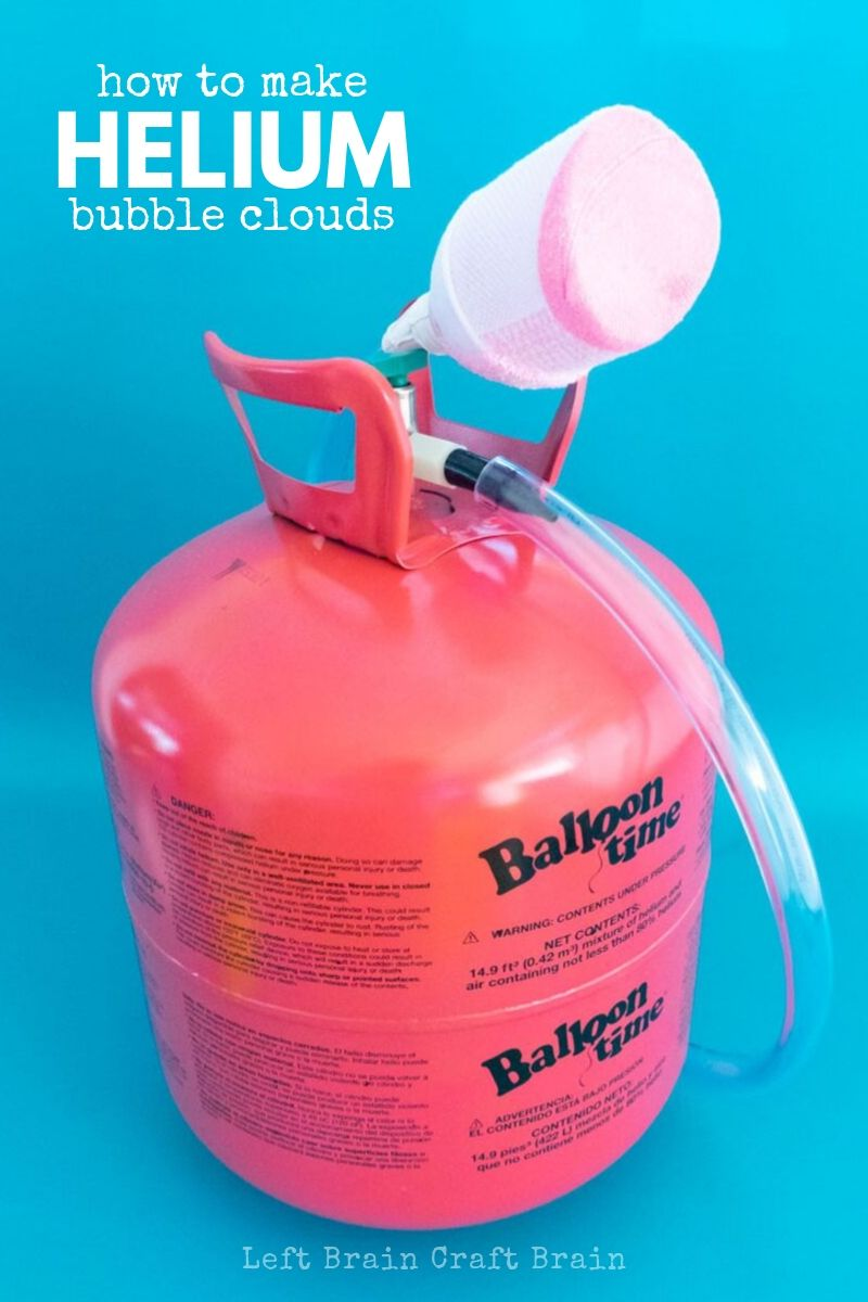 These Helium Bubble Clouds are so much fun! With just a few simple supplies and an awesome Balloon Time Jumbo Helium Tank, you'll be laughing and learning about density, gasses, bubbles, and more. It's a fun helium science experiment for parties or any day you want to make special.