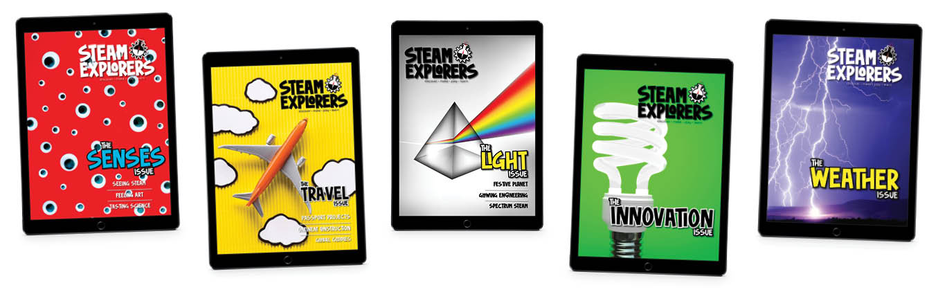 STEAM Explorers Issues in ipads