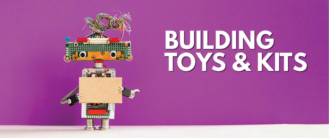Building toys and kits for kids