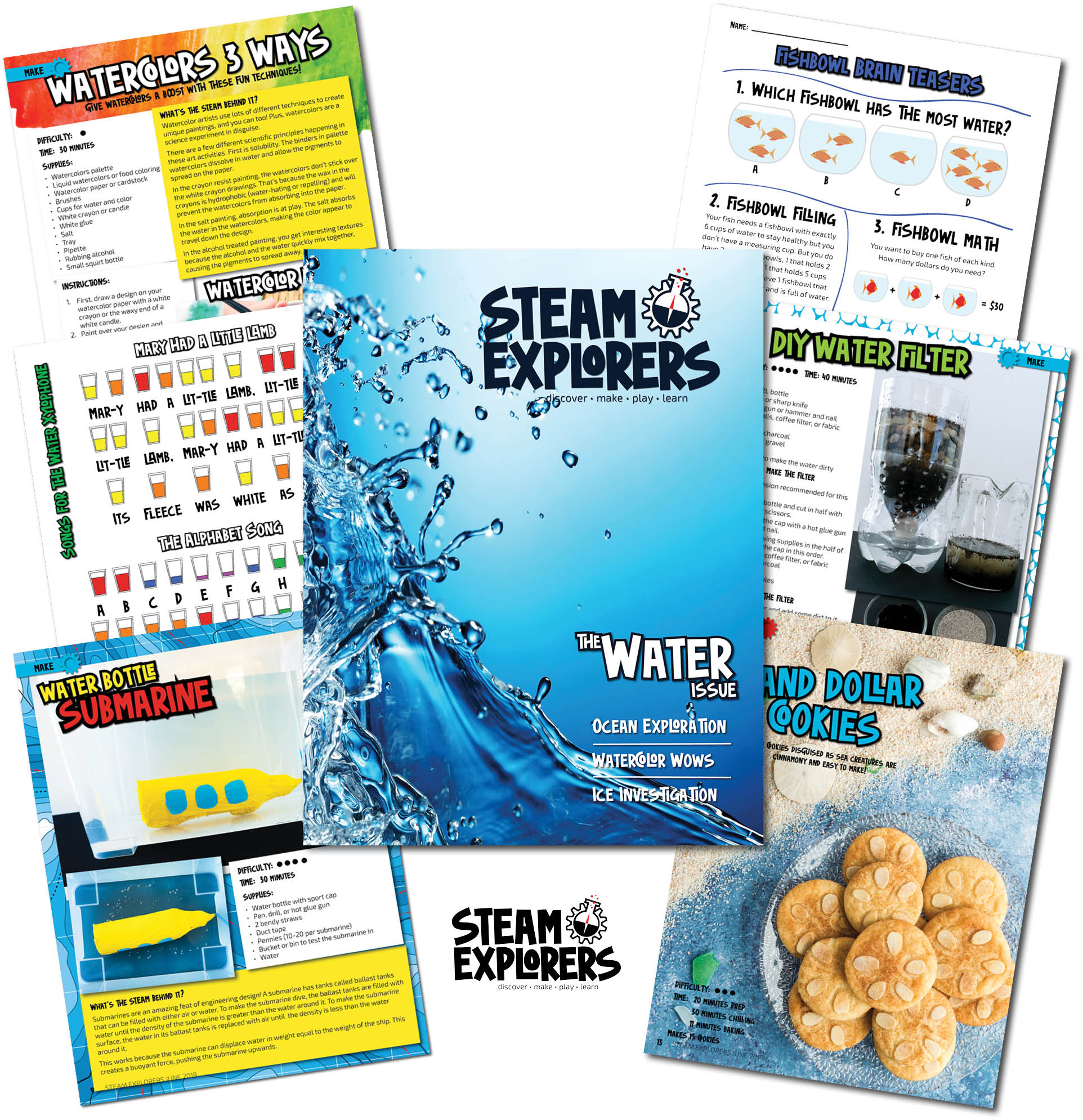What's inside pics only - water book v3