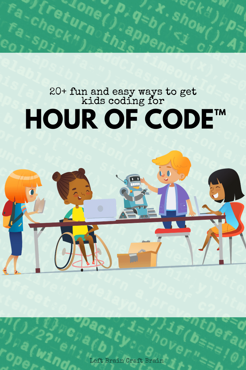 Get your kids coding during Hour of Code with one these fun activities! I've included my favorite activities from hourofcode.org (hello AI for Good!), a few of my favorite apps, computers science and STEAM activities, plus some unplugged activities, too.