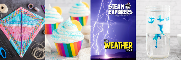 Coming Soon STEAM Explorers - February Weather Issue