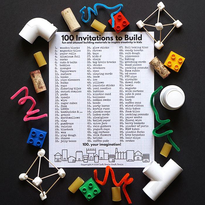 100 Invitations to Build Left Brain Craft Brain FB2