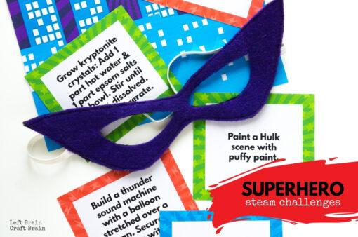Superhero STEAM Challenges 1360x900