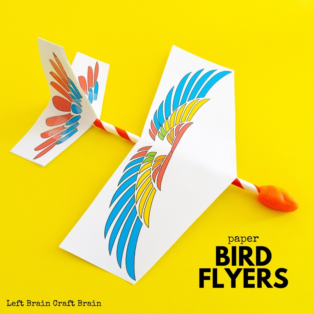 Is your kid obsessed with all things flight, birds, paper airplanes, and origami they are going to absolutely love these amazing STEM bird flyers!