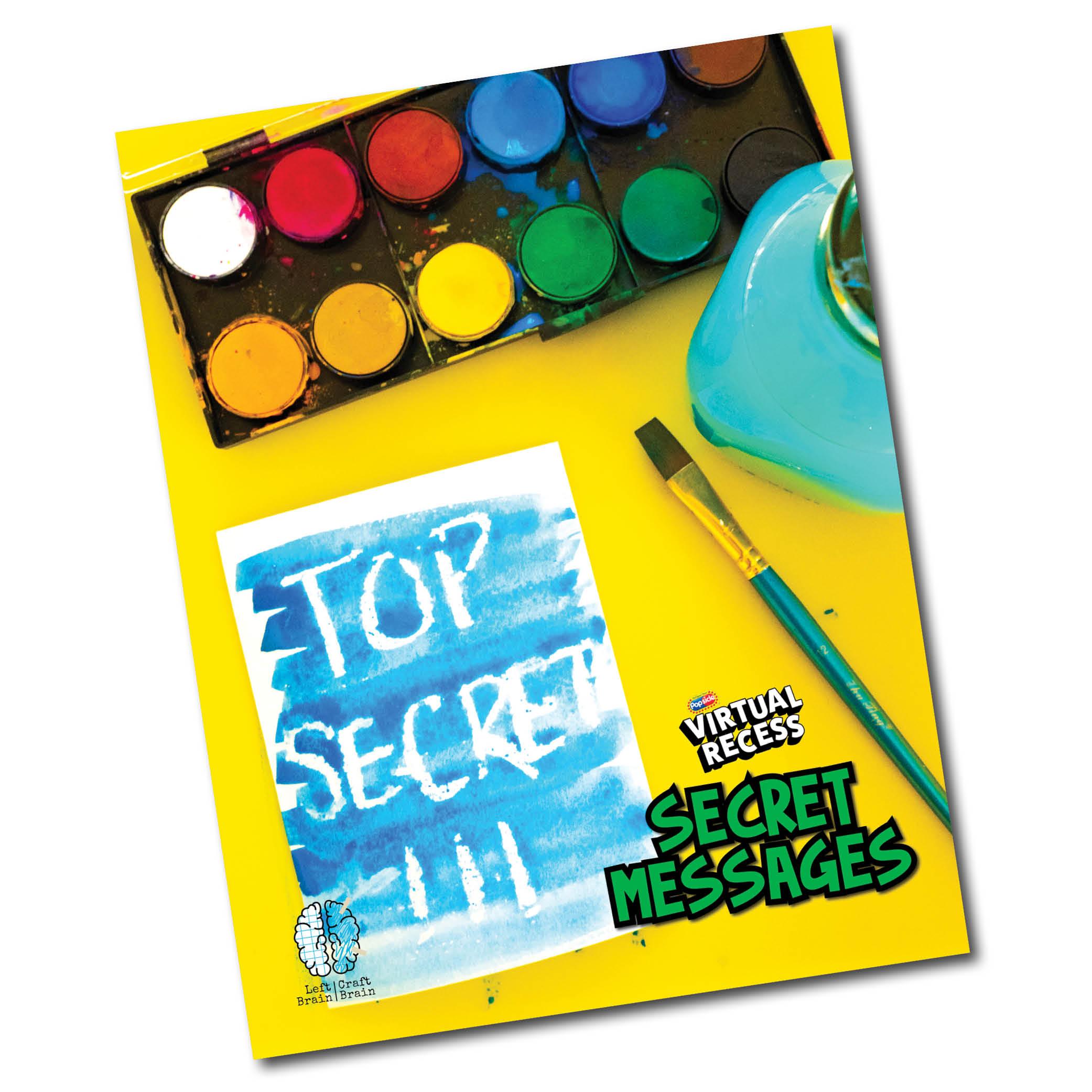 Secret Messages Cover for Landing Page