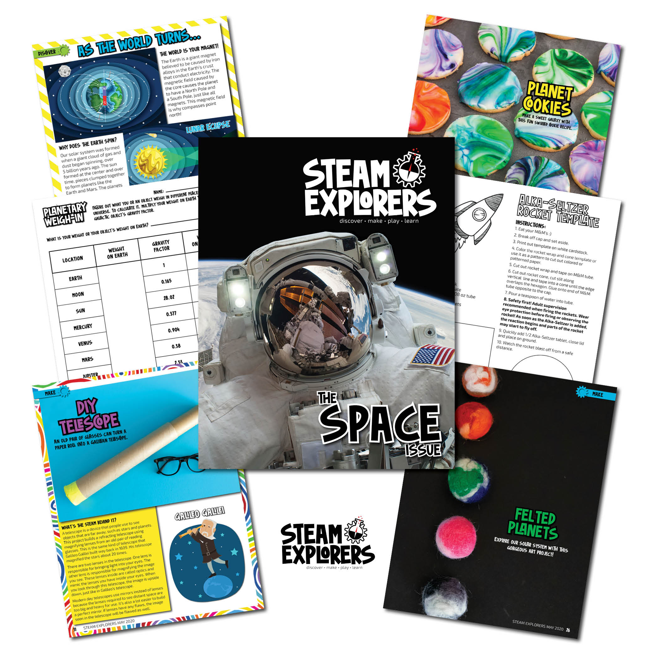 Whats Inside - Space Issue STEAM Explorers