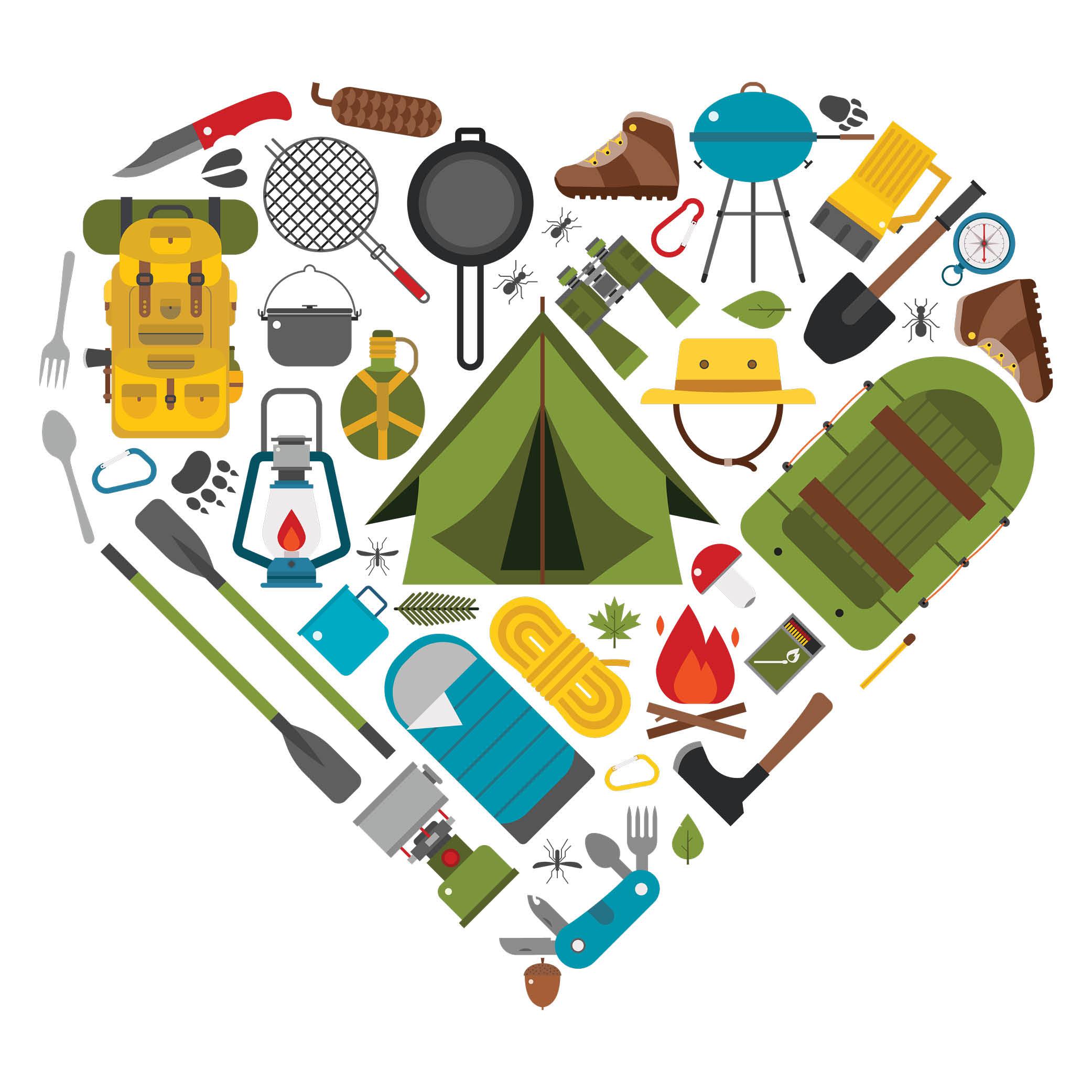 Camping Heart Portal Image